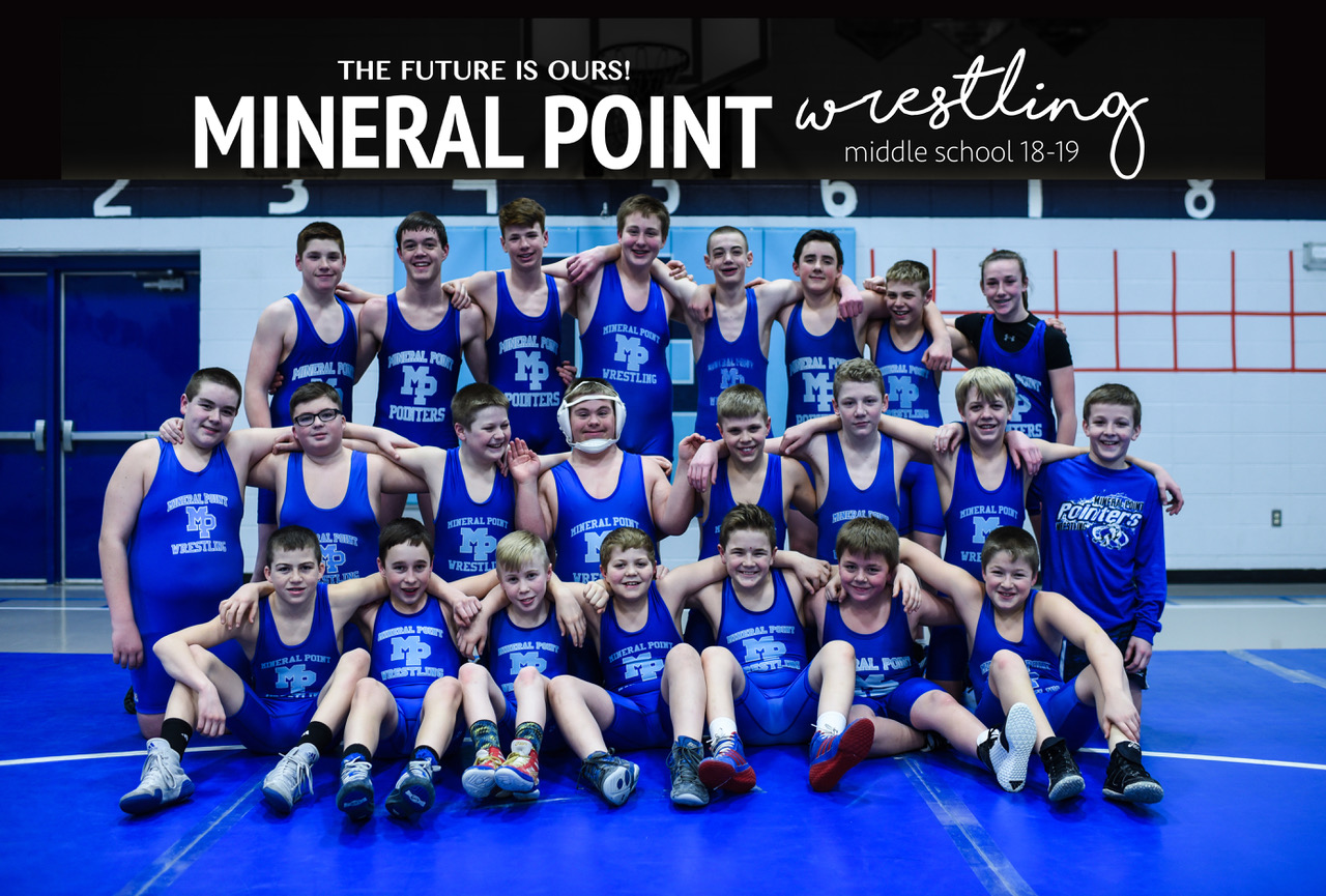 Mineral Point Middle School Wrestling