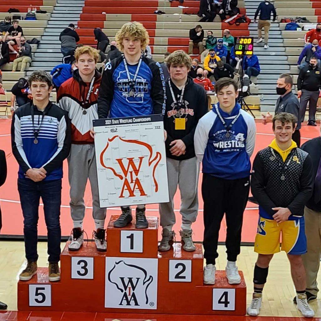 Mason Hughes 182 lb. WI state wrestling champion